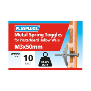 Plasplugs Spring Toggle M3 x 10