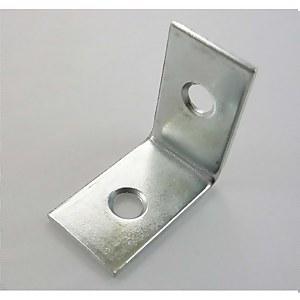 Corner Brace Zinc 25mm - 20 Pack