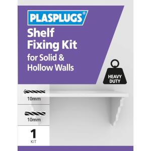 Plasplugs Shelf Fixing Kit