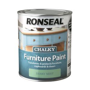 Ronseal Chalk Paint Dusky Mint - 750ml