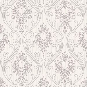 Superfresco Royale Lilac & White Wallpaper
