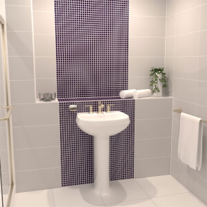 Homelux Mulberry Mosaic Tile