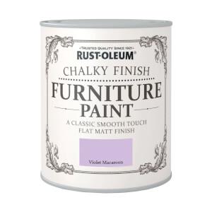 Rust-Oleum Chalky Furniture Paint - Violet Macaroon - 125ml