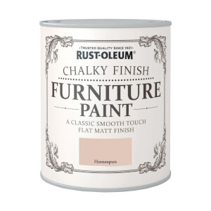 Rust-Oleum Chalky Furniture Paint - Homespun - 750ml