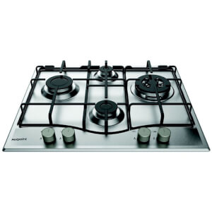 Hotpoint PCN 641 T/IX/H Built-in Gas Hob - Stainless Steel