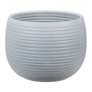 Plant Pot - Grey Stone  - 18cm