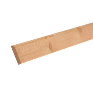 Pine Large Round Architrave 15 x 69mm x 2.1m