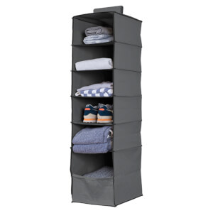 Premium Hanging Storage Organiser - 6 Shelf