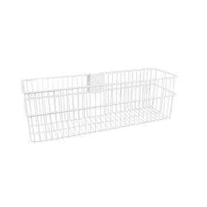 Large Storage Basket - White