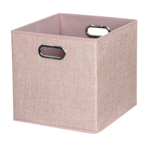 Cube Fabric Insert - Blush Pink