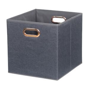 Cube Fabric Insert - Woven Marine