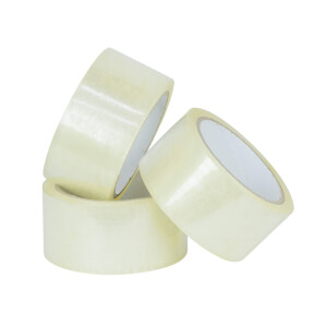 Clear Packaging Tape 3 Pack 48mm x 50m