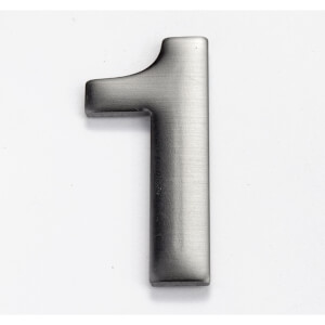 Mode Self Adhesive House Number - 50mm - 1