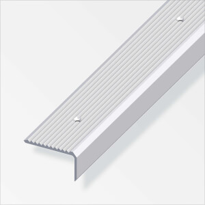 Rothley Step Edging Profile - Aluminium - 41 x 23 x 2000mm