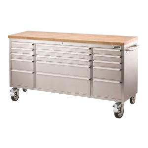 Ultimate Storage 72 Inch Tool Trolley 15 Drawer