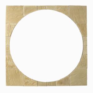 Stylish Stone Chantry Circle Squaring Off Kit 2.4m - Gold