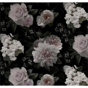 Fine Decor Moonlight Flower Smooth Wallpaper Mural