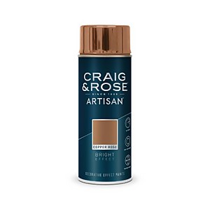 Craig & Rose Artisan Bright Effect Spray Paint - Copper Rose - 400ml