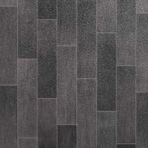 Rufus Vinyl Flooring - Slate Tile Effect - 2x3m