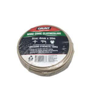 Grunt Clothesline Wirecore 4mm x 30m - Beige