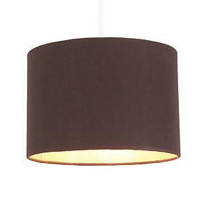 Lois Lamp Shade - Black with Gold Liner - 40cm
