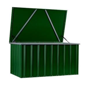 Lotus 5 x 3ft Metal Storage Box - Heritage Green