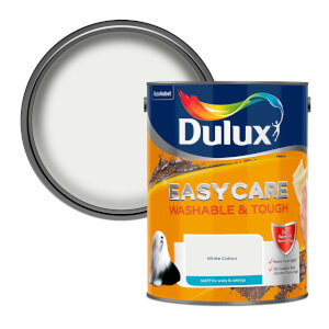 Dulux Easycare Washable & Tough White Cotton Matt Paint 5L