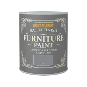 Rust-Oleum Satin Furniture Paint - Slate - 750ml