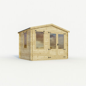 Mercia 2.6m x 3.3m Sherwood 19mm Log Cabin