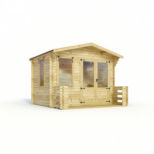 Mercia 3.3m x 3.4m Sherwood 19mm Cabin