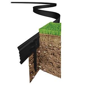 Swift Edge Garden Edging - 6m - Black