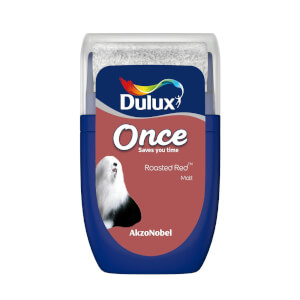 Dulux Once Roasted Red Tester Paint - 30ml