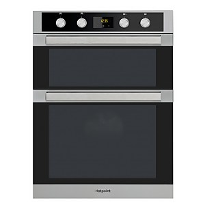 Hotpoint Class 5 DKD5 841 J C IX Built-in Double Electric Oven - Black
