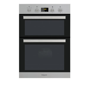 Hotpoint Class 3 DKD3 841 IX Built-in Double Electric Oven - Stainless Steel