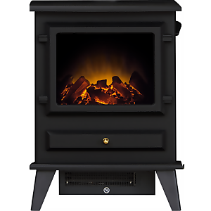 Adam Hudson Electric Stove - Black