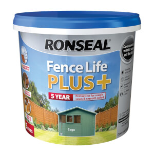 Ronseal Fence Life Plus Sage - 5L