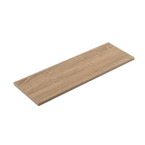 Timber Shelf - Sanoma Oak - 600x200x16mm