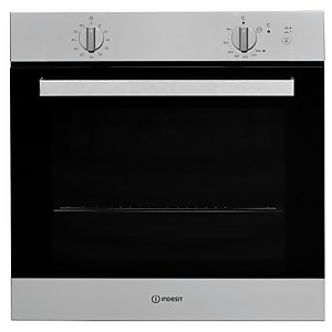 Indesit Aria IGW620IXUK Single Built-in Gas Oven - Stainless Steel