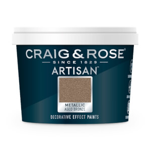Craig & Rose Artisan Metallic Effect Paint - Aged Bronze - 100ml