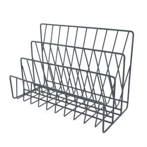 Wire Letter Rack - Matt Black