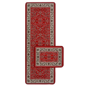 Traditional Runner Pack Red Rug - 57 x 100cm