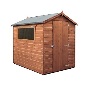 Mercia (Installation Included) 7x5ft Premium Tongue & Groove Apex Shed