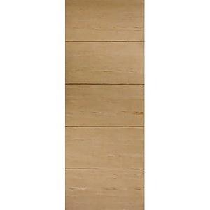 Lille Internal Prefinished Oak Fire Door - 838 x 1981mm