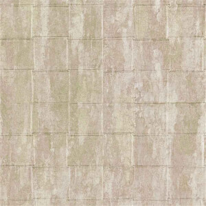 Belgravia Decor Coca Cola Tile Embossed Metallic Mint Wallpaper