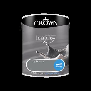 Crown Standard Matt Emulsion - City Break - 5L