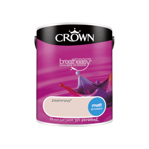 Crown Standard Matt Emulsion - Pashmina - 5L