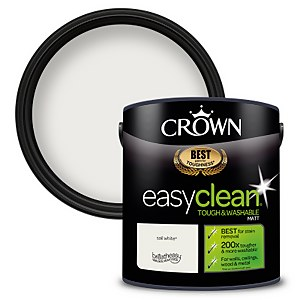 Crown Easyclean 200 Sail White Matt Paint - 2.5L