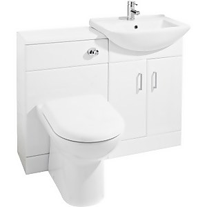 Balterley Cloakroom Furniture Pack - Square Basin