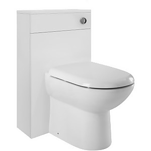 Balterley Bianca 500mm WC Unit - Gloss White