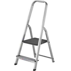 Werner High Handrail Step Ladder - 2 Tread